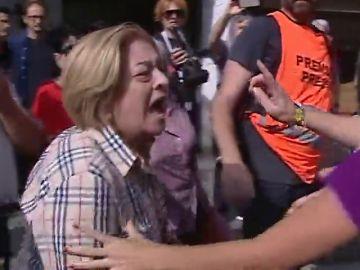 Imagen de la mujer agredida en Tarragona