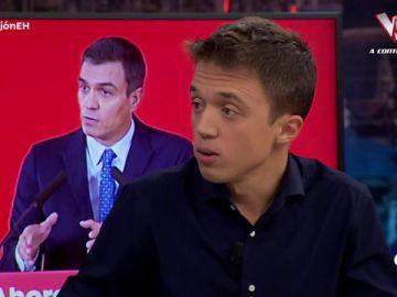 """Íñigo Errejón: """"Vamos a permitir un Gobierno progresista, no hace falta estar de acuerdo en todo"""""""