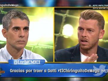 Duro cara a cara entre José Luis Sánchez y Jota Jordi por la sentencia del procés en 'El Chiringuito'