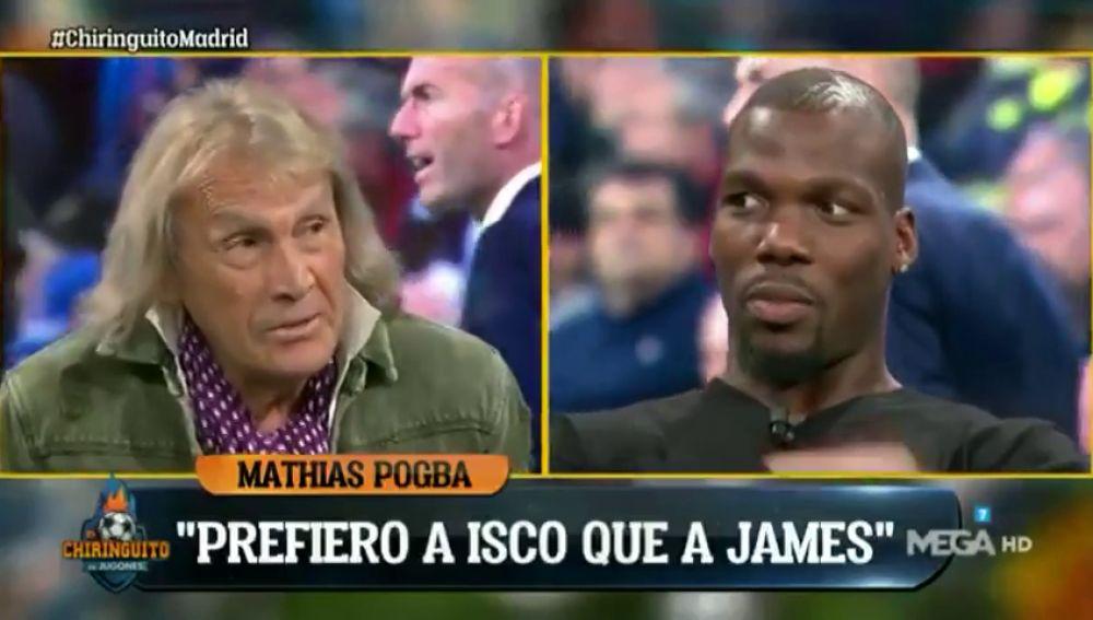 """El encendido debate de Gatti y Mathias Pogba sobre Isco y James: """"Tiene cosas de Guti"""""""