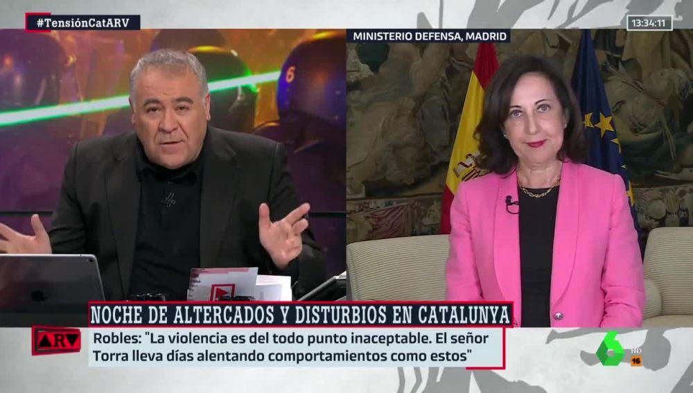 Torra evita condenar la violencia en los altercados de Cataluña — NoSonBuenasNoticias