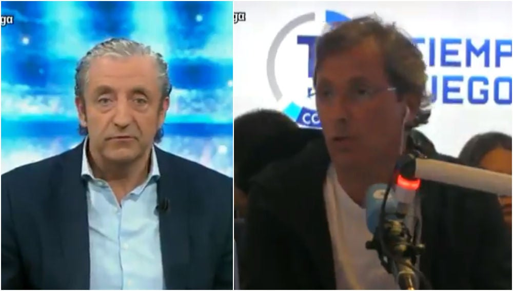 Josep Pedrerol y Paco González