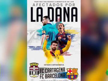 """El Cartagena pide respeto para el FC Barcelona ante su partido solidario: """"Si quieres pitar, lo mejor es que te quedes en tu casa"""""""