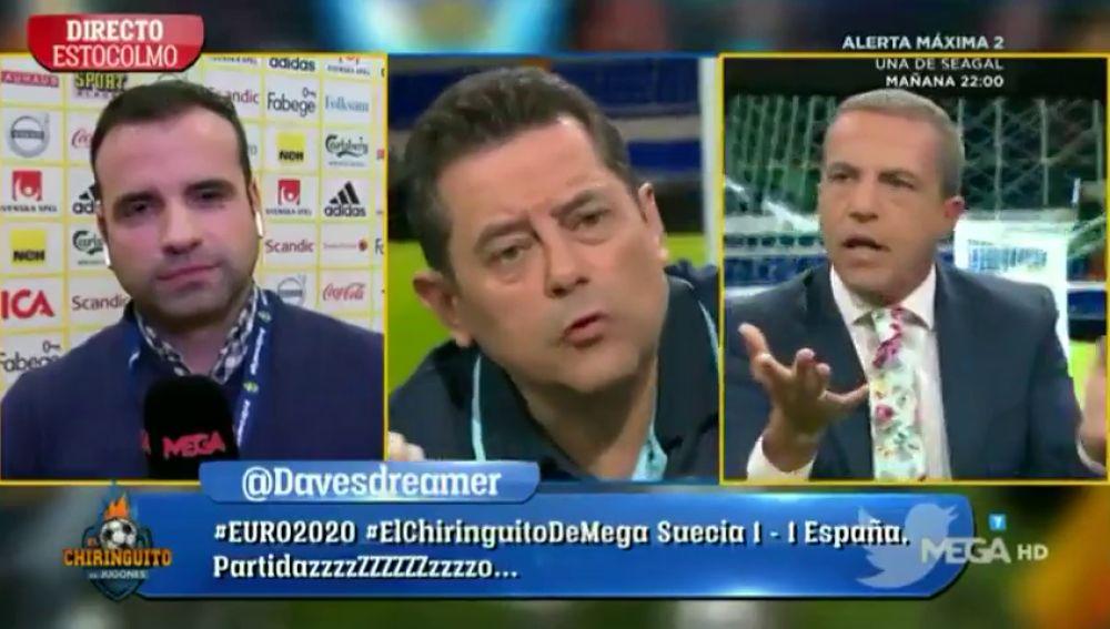 """Duro correctivo de Cristóbal Soria a la Selección: """"No me sé ni los nombres de los tíos"""""""