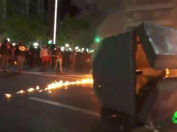 Las movilizaciones contra la sentencia del procés se extienden a Girona, Tarragona y Lleida