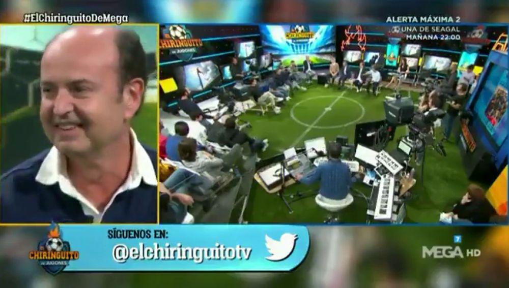 ¡Tremendo! Pelotazo de Cristóbal Soria a Juanma Rodríguez en 'El Chiringuito'