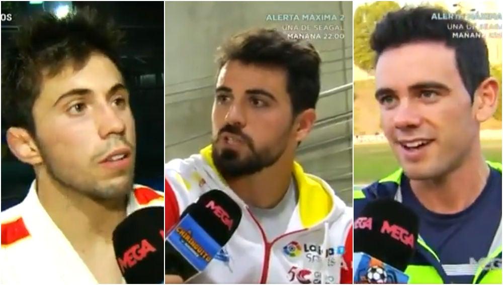 Fran Garrigós, Paco Cubelos y Diego García hablan con 'El Chiringuito'