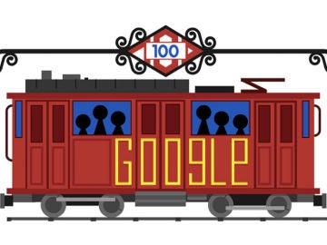Doodle Google: Aniversario Metro de Madrid