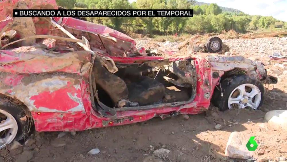 Amplían el rango de búsqueda de los cuatro desaparecidos por el temporal en Cataluña