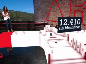 El Valle de los Caídos o la mayor fosa común de España: 12.410 cuerpos están aún sin identificar