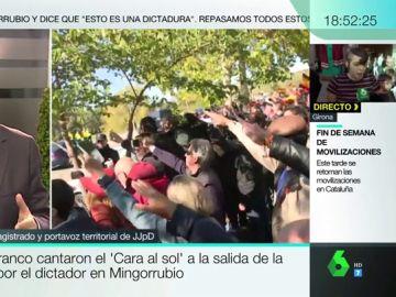 No, el saludo fascista, la bandera franquista y el Cara al Sol no están prohibidos en España