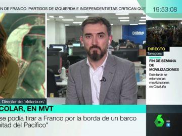 """Ignacio Escolar, sobre la concentración en Mingorrubio: """"Fue un fracaso, un circo; había más periodistas que franquistas"""""""