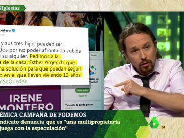 """Iglesias defiende el polémico vídeo de Montero: """"Ojalá hubiera ministros que se preocuparan de los que pagan un alquiler"""""""