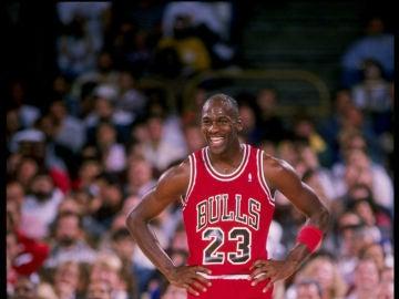 Michael Jordan, con los Bulls en una foto de archivo