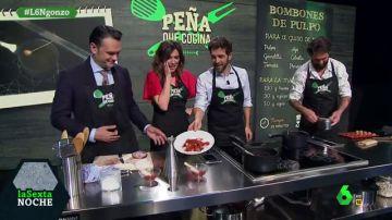 Gonzo cocina con el chef Peña