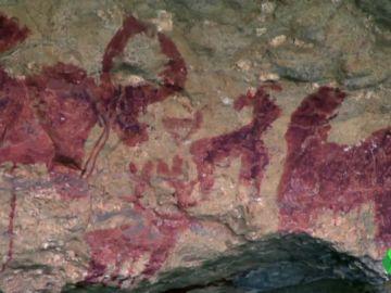 Encuentran hasta 85 pinturas rupestres en la región del Tibet, al sudeste de China