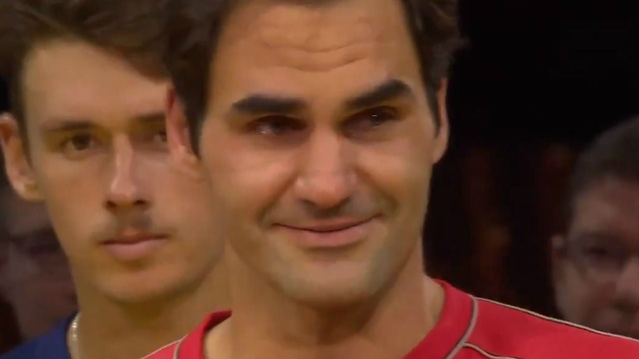 Las lágrimas de Roger Federer