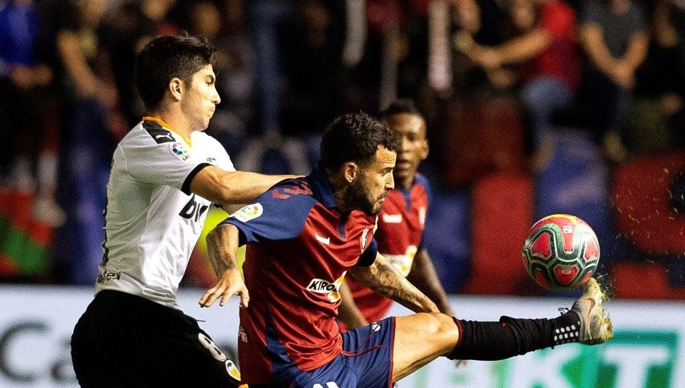 Rubén García protege ante Carlos Soler