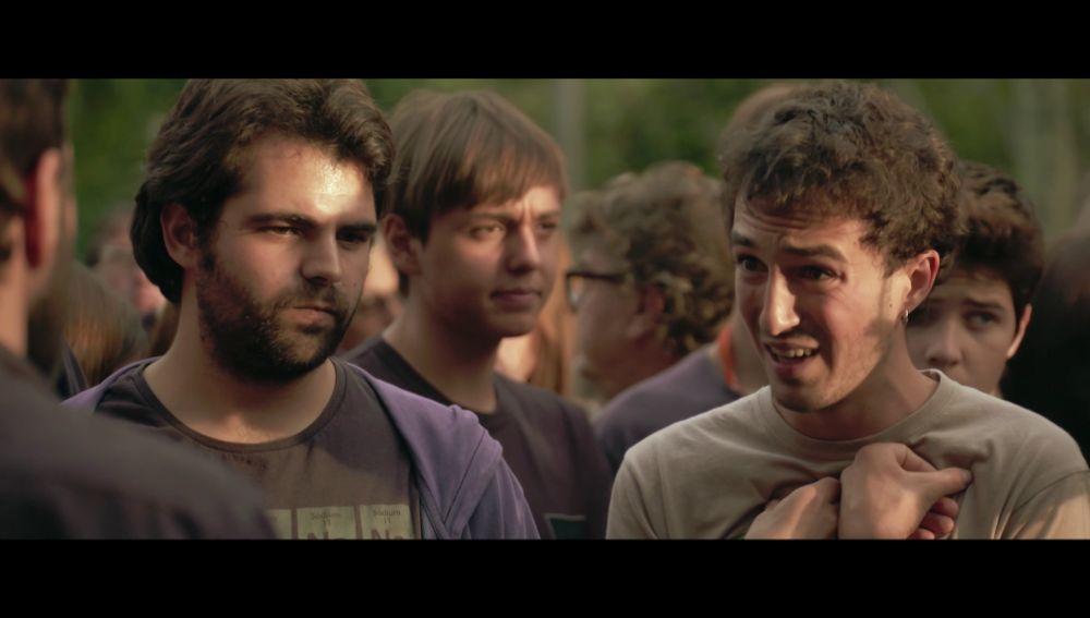 Dos jóvenes independentistas hablan en Salvados