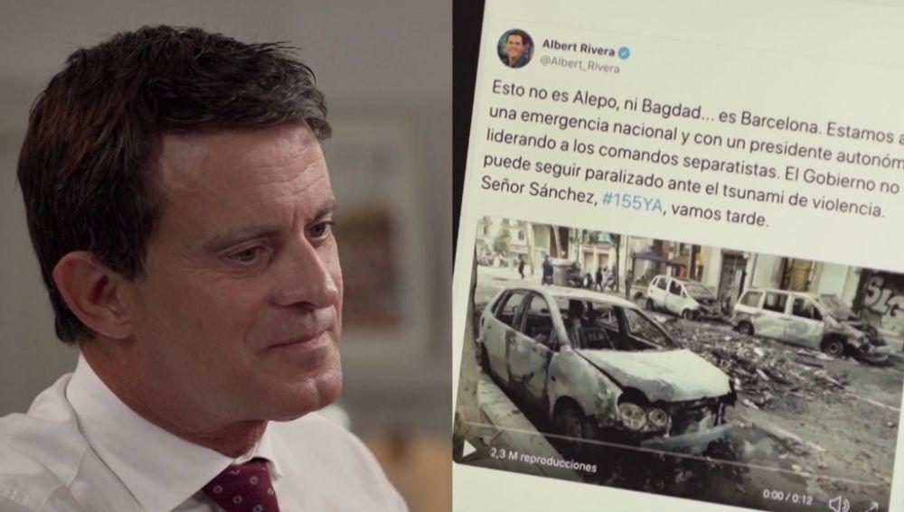 Manuel Valls en Salvados