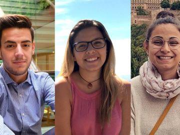 Ana, Javier y Encarna han vivido en centros de acogida gestionados por la ONG Aldeas Infantiles.