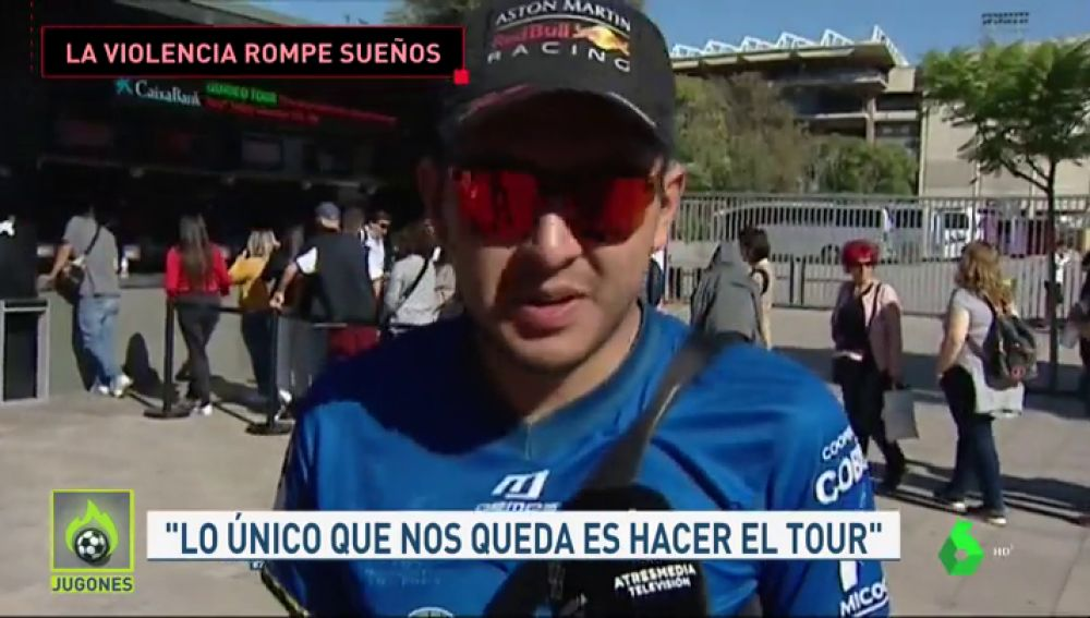 Venían a ver el Clásico... y se tuvieron que conformar con hacer el Tour del Camp Nou