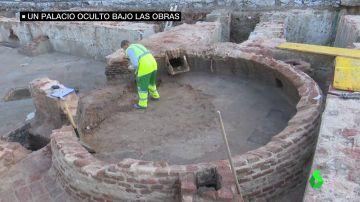 Un palacio del siglo XVIII bajo tierra, la causa de la prolongación de las obras en la Plaza de España de Madrid