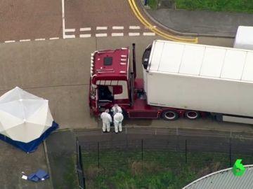 Prisión sin fianza para el conductor del camión donde se hallaron 39 cadáveres en Essex