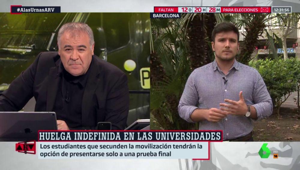"""Jordi Salvadó, coordinador de S'ha Acabat: """"Los independentistas radicales no respetan el derecho a ir a clase"""""""