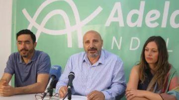 José Luis Cano en rueda de prensa, en una foto de archivo.