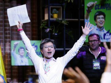 Claudia López será la primera alcaldesa de Bogotá elegida en las urnas