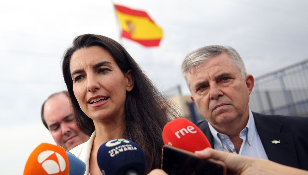 La presidenta de Vox en Madrid, Rocío Monasterio