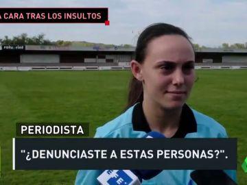 "Laura Bezares, árbitra amenazada e insultada durante un partido: ""Le ha pasado a muchas compañeras"""