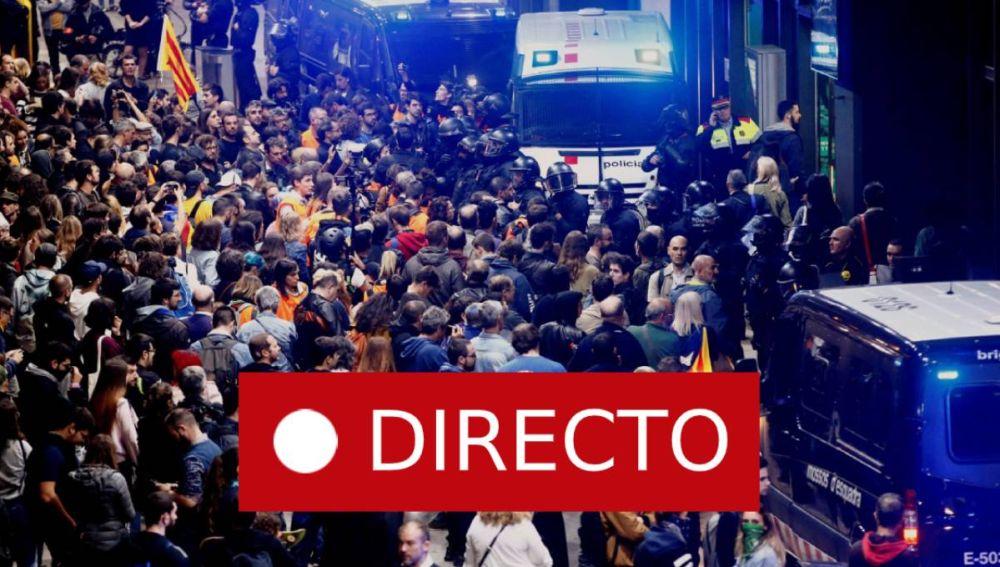Barcelona hoy   Cataluña: Manifestación en Sants última hora EN DIRECTO