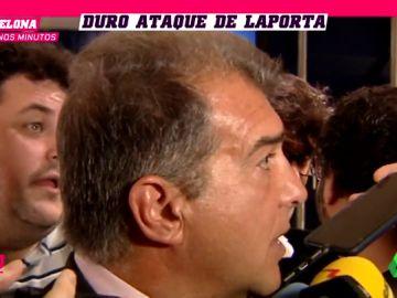 """Joan Laporta explota: """"El Barça es culpable de esta situación del aplazamiento porque tenía que haberse hecho fuerte"""""""