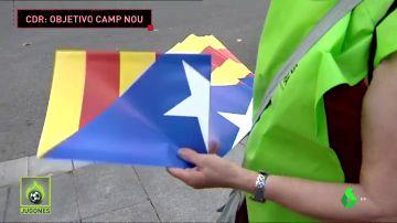 Este es el plan de los CDR para el primer partido en el Camp Nou desde la sentencia del procés