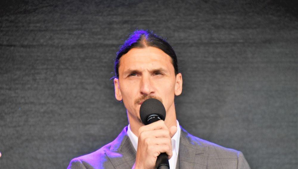 El delantero sueco Zlatan Ibrahimovic