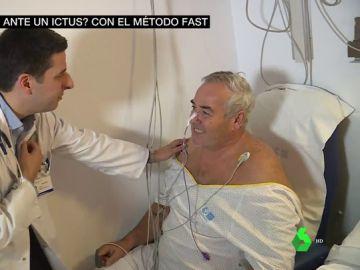 El 'método FAST', o cómo detectar los síntomas y actuar en caso de ictus