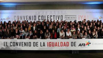 El fútbol femenino, en huelga en noviembre