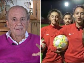 Las jugadoras del Sporting responden a José María García