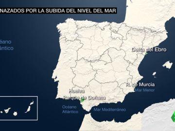 Los hogares de más de 200.000 personas en España, tres veces más amenazados por el nivel del mar de lo que se creía