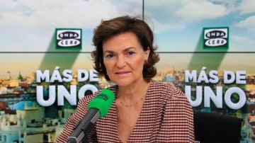 Carmen Calvo en Onda Cero
