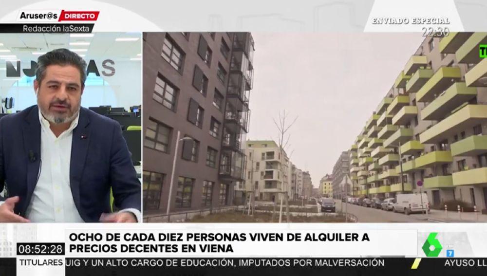 """Jalis de la Serna recomienda a los políticos ver Enviado Especial: """"Todos dicen estar preocupados por el acceso a la vivienda pero nadie se ocupa"""""""