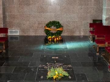 Imagen de la cripta de Francisco Franco