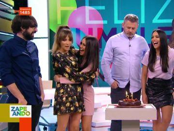 """Los emotivos mensajes de los zapeadores por el Cumpleaños de Cristina Pedroche: """"Contigo trabajaría gratis"""""""