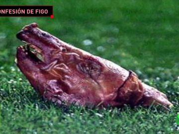 """Figo se mofa la 'noche del cochinillo' en el Camp Nou: """"Me vino bien"""""""