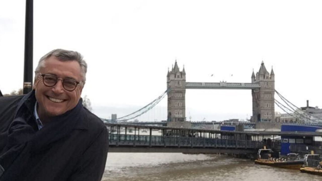 Michael Robinson en Londres