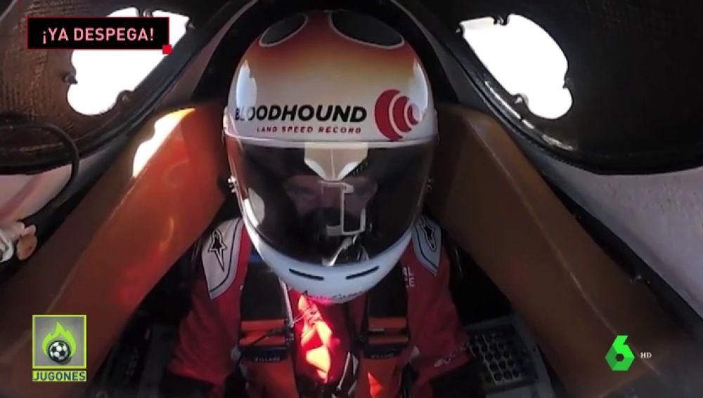 De 0 a 537 km/h en 20 segundos: así se vive desde dentro el arranque del coche supersónico
