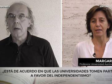 Esto es lo que opinan dos profesores con posturas diferentes sobre la posición de las universidades en el conflicto catalán