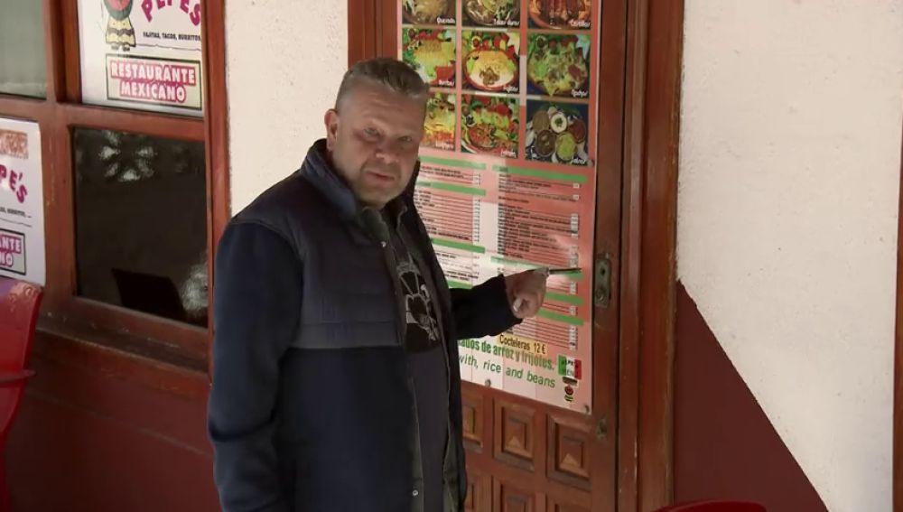 """Chicote se queda con el pomo en la puerta en su llegada al Pepe's Cantina: """"Pues empezamos bien…"""""""